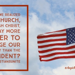 A Call for U.S. Christians to Unite in this ElectionSeason